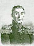 """Граф Аракчеев. Литография, сделанная с портрета, находящегося в """"Военной галерее"""" Зимнего дворца"""