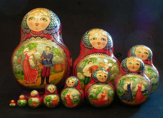 Источники информации.  Русские матрешки родом из Японии?