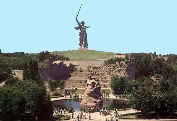 Волгоград - Россия, Russia мамаев курган история