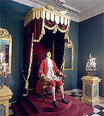 Wax Figure of Peter I.  B. Rastrelli, 1725
