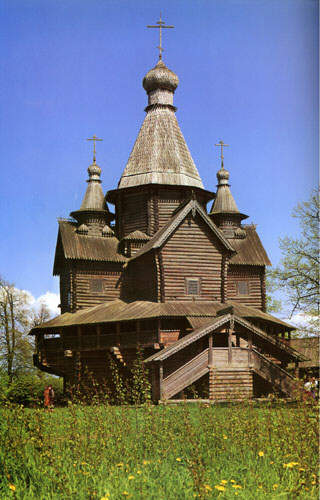 The Vitoslavlitsy Museum of Wooden Architecture